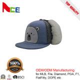広州の帽子の工場耳の折り返しが付いているカスタム子供の冬の帽子
