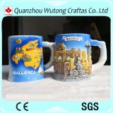 Подгонянная чашка украшения таблицы кружки творческого типа Испании деталей сувениров керамическая