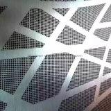 Pintado de color en polvo de aluminio recubierto de paneles de pared perforada
