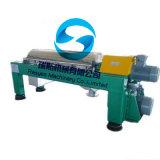 産業沈積物の遠心デカンターの遠心分離機