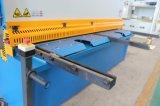 Hidráulico da marca Accurl máquina de corte de metais QC12y-6X6000 E21 para cortar folha Meta de exposição