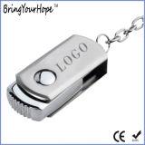 128GB metallschwenker USB-Blitz-Laufwerk USB-3.0 Mini(XH-USB-118)