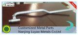 Tubo de acero mecanizado y doblar y soldar/mecanizado de acero personalizados y doblando y soldando