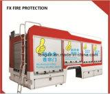 Galet de roulement de l'obturateur en place d'aluminium porte pour camion à incendie