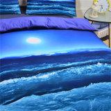 Ozean-Entwurfs-Bettwäsche-gesetztes Polyester-Bettwäsche-Set