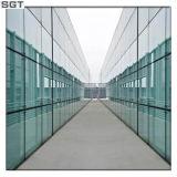 10.76 millimètres de verre feuilleté teinté de PVB/Sgp pour la façade