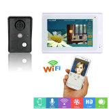7inch drahtlose/verdrahtete WiFi IP-videotürklingel-Wechselsprechanlage