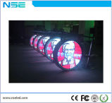 P8mm Waterproof Logo Sign Circle LED Display for Shop Advertizing