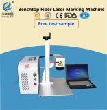 20W fliegen bewegliche Faser-Laser-Markierungs-Maschine für Telefon-Shell und Ringe