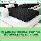 Canapé d'angle moderne italien vivant ensemble mobilier de salle