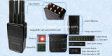 Emittente di disturbo radiofonica di WiFi Jammer/GPS del segnale del telefono mobile 3G 4G GSM CDMA di alto potere 8-Antennas/emittente di disturbo di Lojack