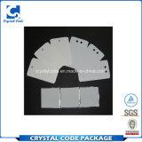 Imprimible personalizada etiqueta adhesiva de alta temperatura para el hierro