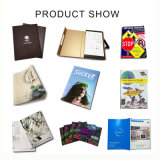 Sattel, der kundenspezifische Farbton-Broschüre, Broschüre, Katalog-Drucken näht