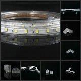 Tiras flexibles brillantes LED del alto lumen del precio de Whosale que amortiguan la tira