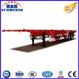 Semi Aanhangwagen van de Container van twee As 20FT de de Skeletachtige/Oplegger van de Container van het Skelet