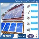 Toiture inclinée toit plat pente du toit du système de montage panneau solaire sur le toit