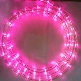 최신 판매 유연한 밧줄 빛 LED 매우 얇은 네온 코드 밧줄 빛