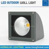 Iluminación al aire libre montada en la pared blanca caliente exterior de la pared de la MAZORCA 20W LED del aluminio IP65
