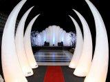 Illuminazione gonfiabile dell'aerostato del corno per la cerimonia nuziale decorativa