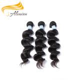 Le cheveu humain indien Remy indien de Vierge coupe des extensions de cheveu