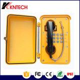 Aluminiumlegierung-wasserdichtes Telefon mit Zeile Energie Knsp-01