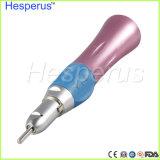 低速歯科カラーHandpieceまっすぐなHandpieceのピンク