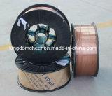 Revestido de cobre do fio de soldagem a arco submerso