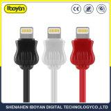 쉬운 번개 USB 데이터 케이블 이동 전화 부속품을 전송하십시오