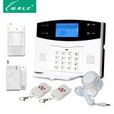 Alarm van het Systeem van de Inbreker van de Veiligheid GSM/PSTN van het huis het Draadloze met Stem Sp/Ru/Fr/Vn/It/Portuguese