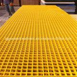 Fibre de verre Pultured d'usine de Hebei râpant la grille des grilles FRP de GRP