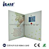 새로운 도착 관례 2.8 인치 축제를 위한 인쇄에 있는 영상 브로셔 카드 또는 영상