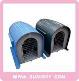 Cage en plastique d'animal familier de qualité/Chambre de crabot populaire de Chambre d'animal familier