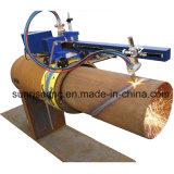 Cnc-Plasma und Flamme-Ausschnitt-Maschine für Rohre/Gefäße