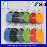 Ntag215 Nfc RFID Keychains voor het Systeem van de Opkomst RFID