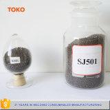サブマージアーク溶接の固められた溶接用フラックスSj101 Sj301 Sj501