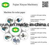 Het semi Automatische Document die van het Toiletpapier van de Lage Prijs de Lopende band van de Machine maken