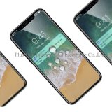 2017 новый изогнутый 2.5D фингерпринт протектора экрана Tempered стекла анти- взрывозащищенный для вспомогательного оборудования iPhone x передвижного