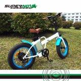 Bicicleta eléctrica plegable 350W Ebike con neumático Fat