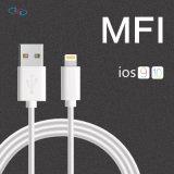 Fabricante de certificação das IFM sincronização e carga 8 Pino Relâmpagos Cabo USB para iPhone X/8/8 Plus/7/7 Plus/6/6 Plus/5/5s/5C