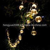 La decoración de jardín cadena Lightchain Bombilla de luz Solar jardín lámpara solar jardín Luz