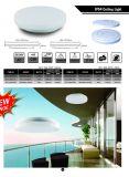 IP54 Bluetooth Dimmable와 CCT 변하기 쉬워 라운드 LED 천장 지능적인 빛