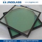 vidrio aislado E inferior de la doble vidriera de 10m m