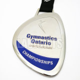 Factory Direct Customized 3D Plated nickel sport Medal