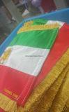 Bandeira feita sob encomenda da tabela da tela com bordado delicado
