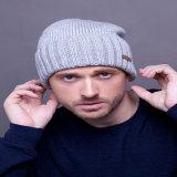 100% acrílico material y los adultos grupo de edad de Invierno de parches personalizados Beanies Hat