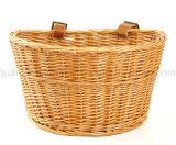 Soem-heißes Verkaufs-Rattan-hängender Fahrrad-Weidenkorb