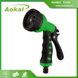 Pistola a spruzzo registrabile dell'acqua di lavaggio dell'automobile della plastica dei 7 reticoli per pulizia