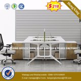 4 sièges forme de L'Office de poste de travail du personnel de Cluster Partition (HX-8N0661)