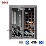 Etiopía cuarto de baño de aluminio Aluminio puertas de cristal puerta corrediza de vidrio