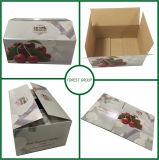 출하를 위한 강한 물결 모양 과일 상자를 주문 설계하십시오